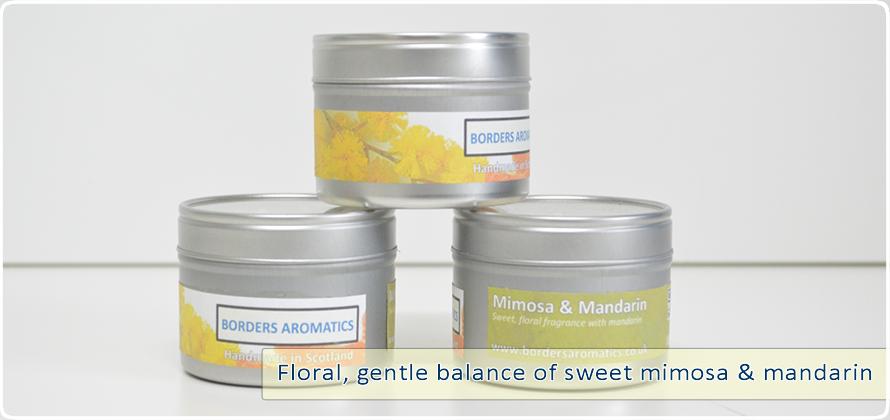 Mimosa and Mandarin Travel Tin