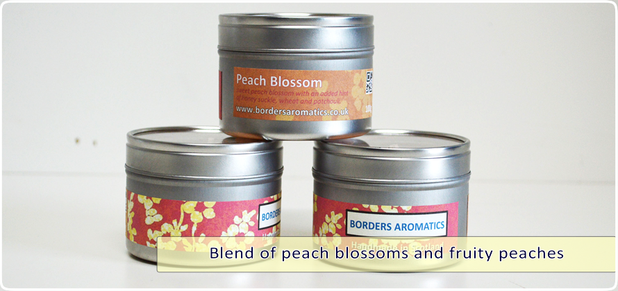 Peach Blossom Travel Tin