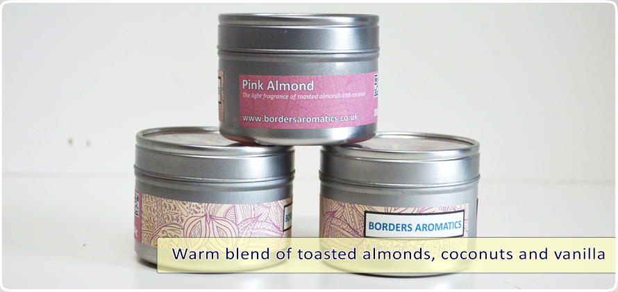 Pink Almond Travel Tin