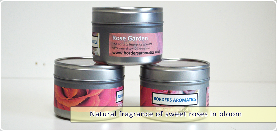 Rose Garden Travel Tin