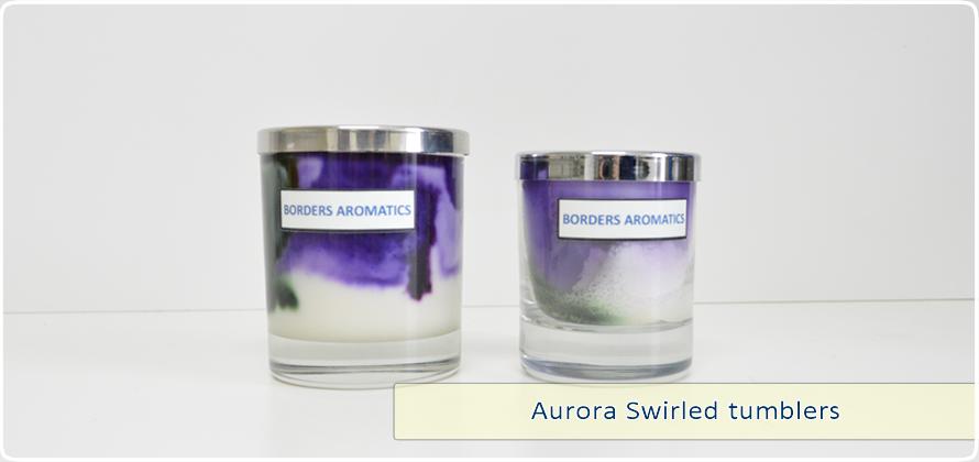 Aurora Swirled Tumblers