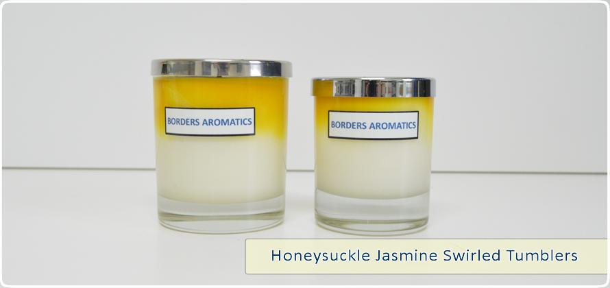 Honeysuckle Jasmine Swirled Tumblers