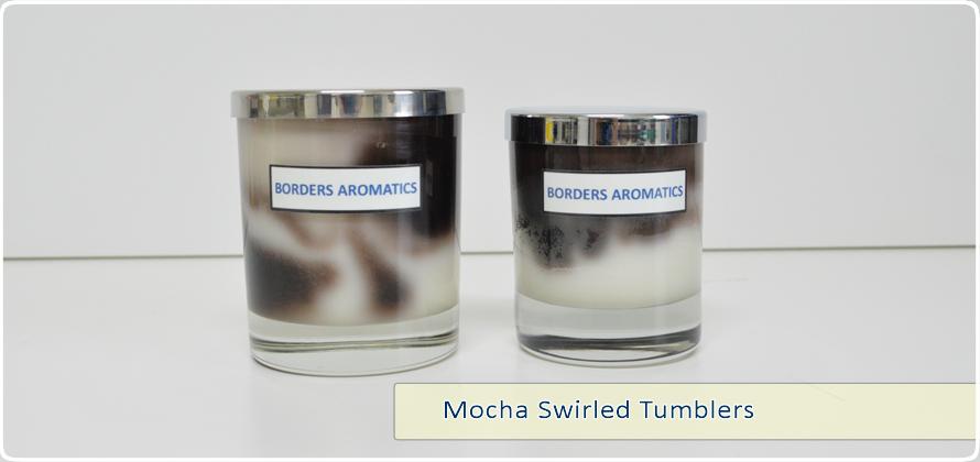 Mocha Swirled Tumblers