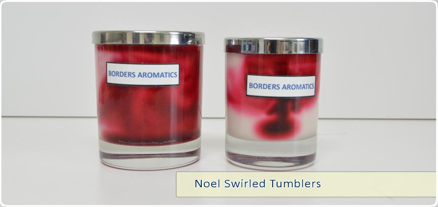 Noel Swirled Tumblers