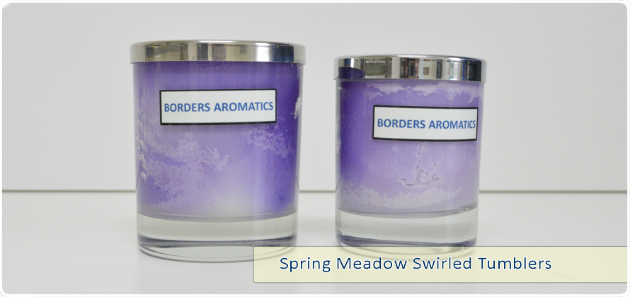Spring Meadow Swirled Tumblers