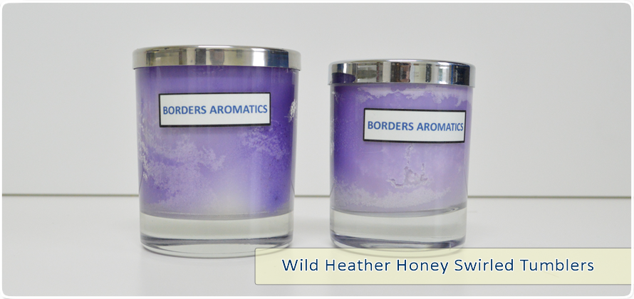 Wild Heather Honey Swirled Tumblers