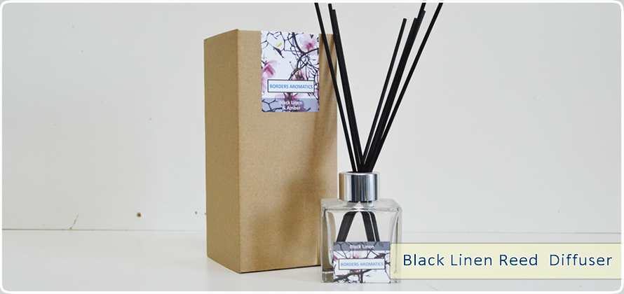 Black Linen Reed Diffuser